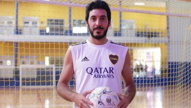 """Photo of Guido Mosenson: """"Los objetivos del futsal de Boca siempre son los más altos"""""""