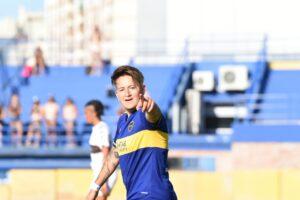 Yami Rodriguez en la goleada a Platense
