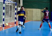 boca perdio con san lorenzo 3-2 en el partido para la libertadores de futsal