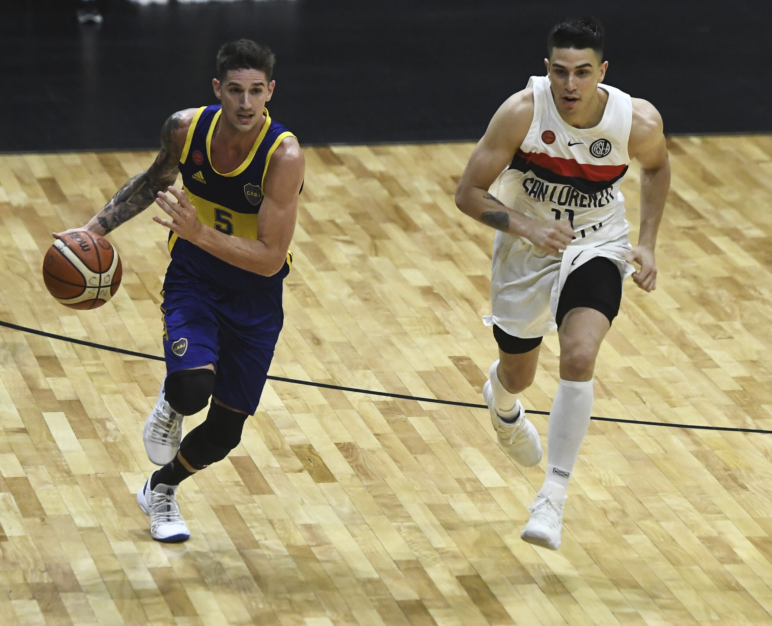Nicolás De Los Santos boca basquet liga nacional