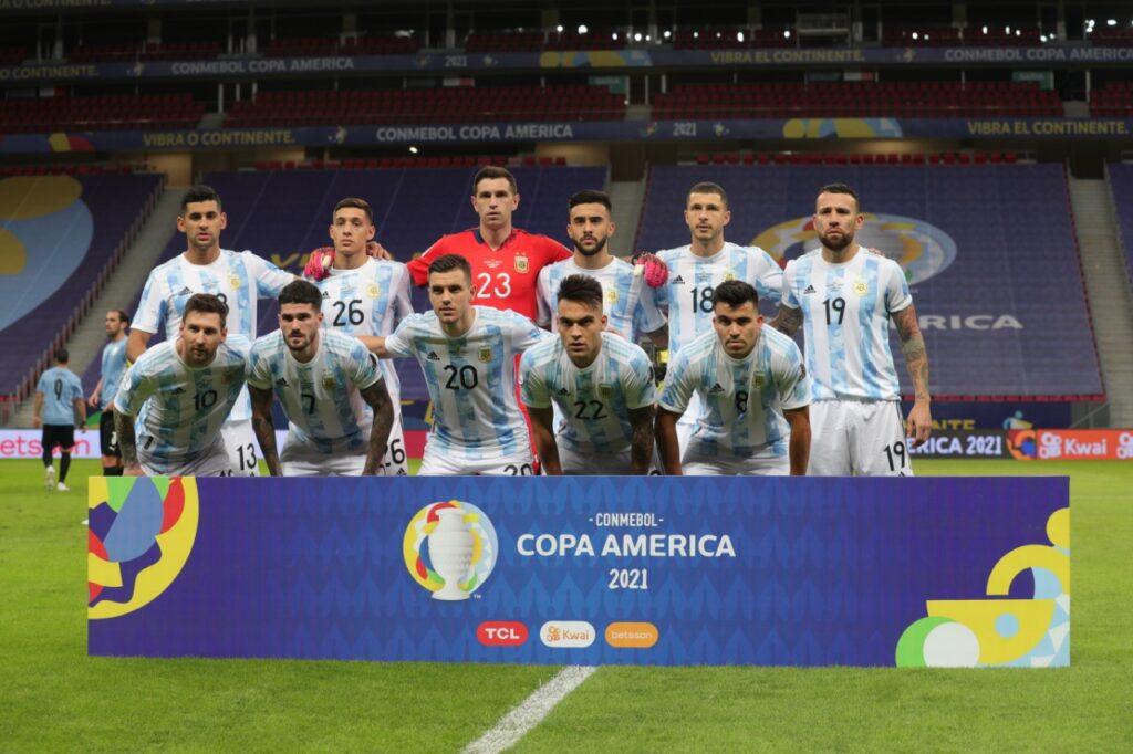 Argentina venció 1-0 a Uruguay en Copa América. Foto: @AFAMedia